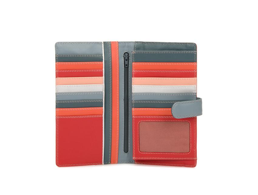 Mywalit Portafoglio grande linea Large Tab Tri-fold Wallet colore Urban Sky cod. 1203-122 open-zoom
