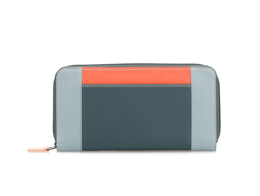 Mywalit Portafoglio Grande con Zip - Large Zip Wallet colore Urban Sky 329-131
