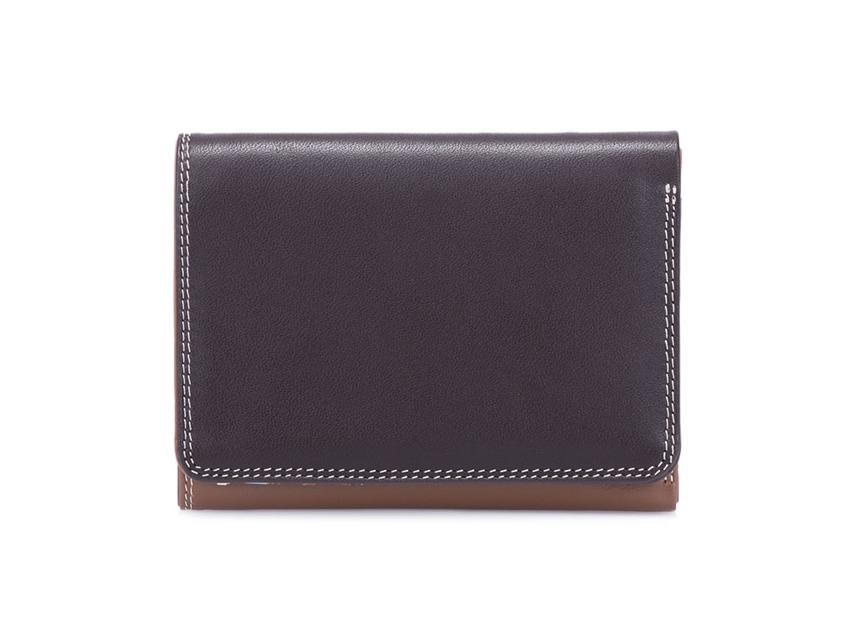 Mywalit Mini Portafoglio pieghevole linea Tri-fold Wallet colore Mocha cod. 106-128