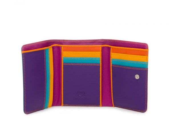 Mywalit Small Tri-fold Wallet Copacabana 106-115 open