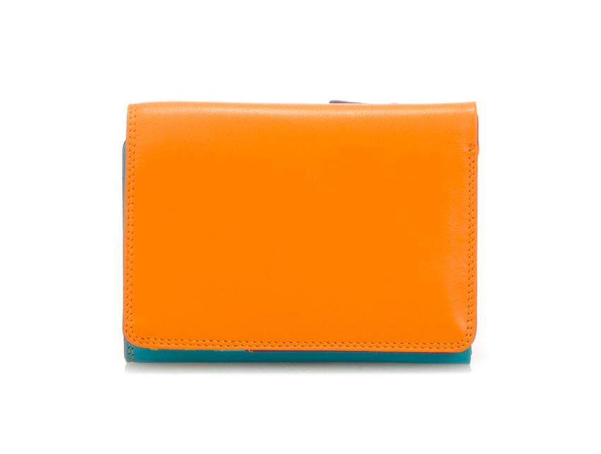Mywalit Mini Portafoglio pieghevole linea Tri-fold Wallet colore Copacabana cod. 106-115 open zoom