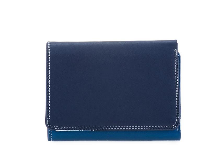 Mywalit Mini Portafoglio pieghevole linea Tri-fold Wallet colore Denim cod. 106-130