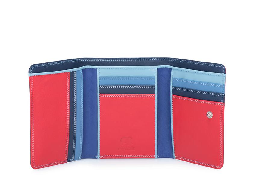 Mywalit Mini Portafoglio pieghevole linea Tri-fold Wallet colore Royal cod. 106-127 open zoom