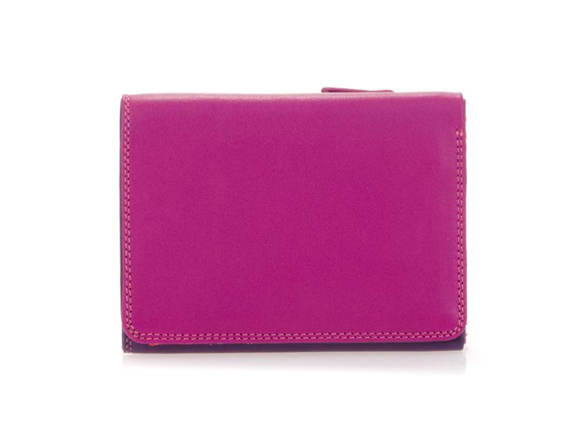 Mywalit Mini Portafoglio pieghevole linea Tri-fold Wallet colore Sangria Multi cod. 106-75
