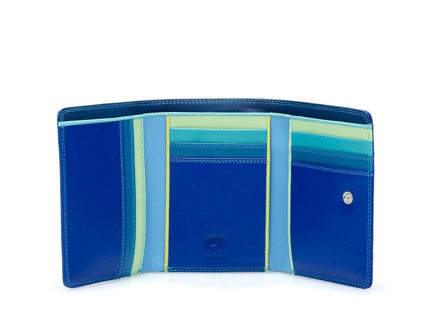 Mywalit Mini Portafoglio pieghevole linea Tri-fold Wallet colore Seascape cod. 106-92 open zoom