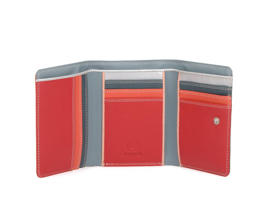 Mywalit Mini Portafoglio pieghevole linea Tri-fold Wallet colore Urban Sky cod. 106-122 open zoom