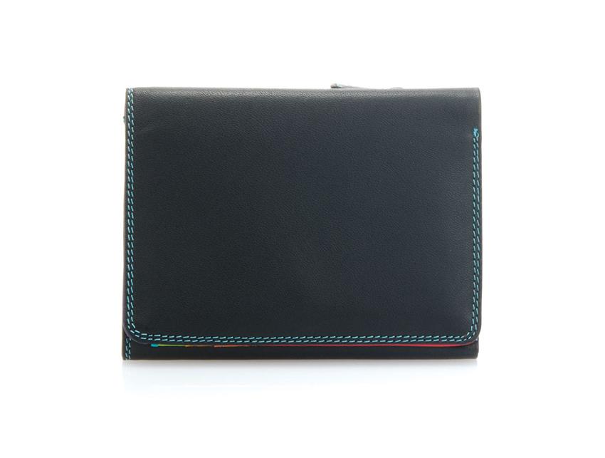 Mywalit Mini Portafoglio pieghevole linea Tri-fold Wallet colore black-pace cod. 106-4