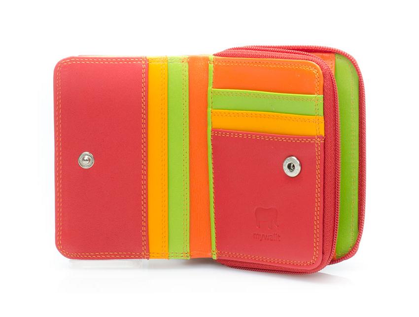 Mywalit Portafoglio linea Small Zip Wallet Jamaica cod. 226 12