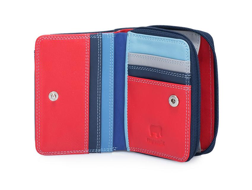 Mywalit Portafoglio linea Small Zip Wallet royal 226-127