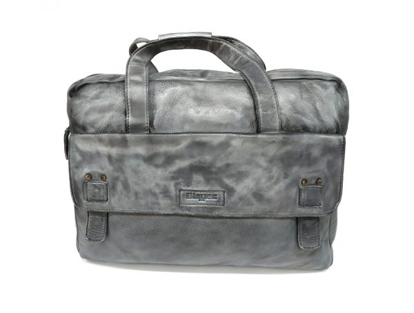 Blauer USA - Cartella porta PC - linea Carry - SKU BLCA00363M -grigio-fronte