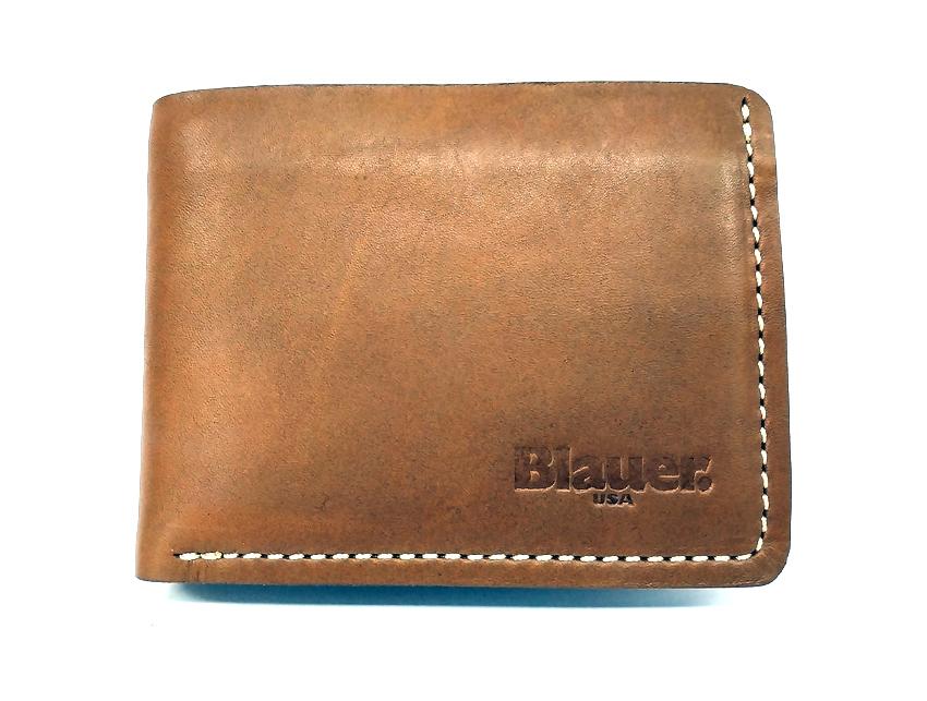 Blauer USA - Portafogli Uomo - linea Rawy - SKU BLPU00298M tan fronte