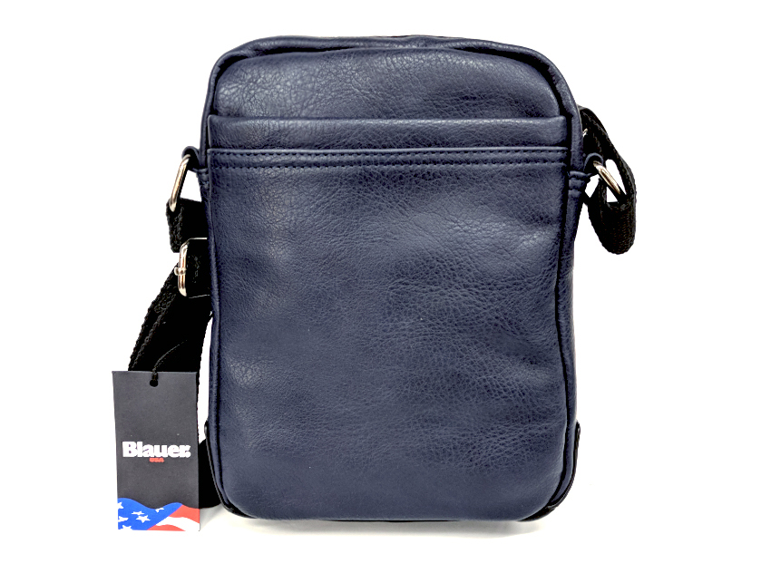 Blauer USA - Tracolla Uomo - linea Carry - SKU BLBO00410T navy retro