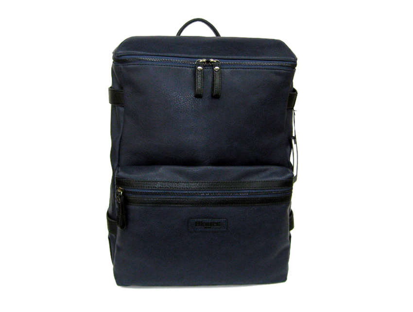 Blauer USA - Zaino porta PC - linea Carry - SKU BLZA00379T-navy-fronte