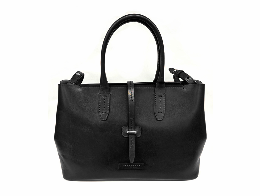 The Bridge - Borsa Donna - linea Florentin - SKU 04131701 nero fronte
