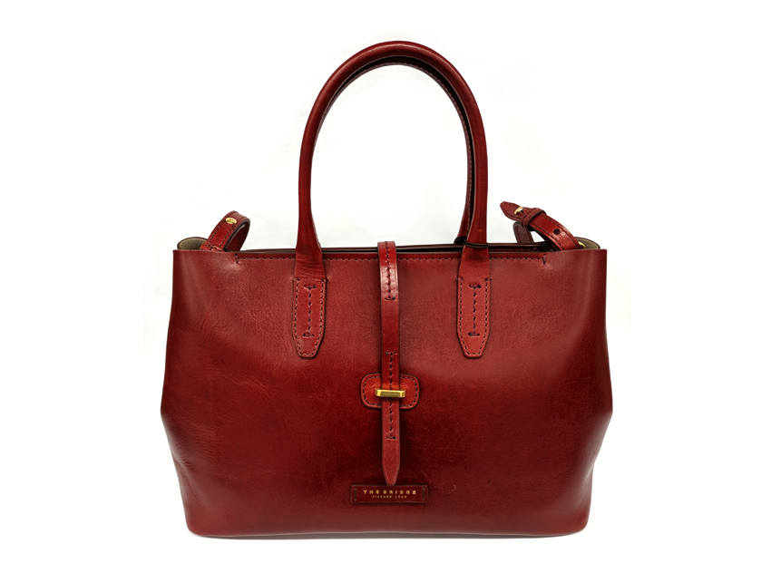 The Bridge - Borsa Donna - linea Florentin - SKU 04131701 rosso fronte