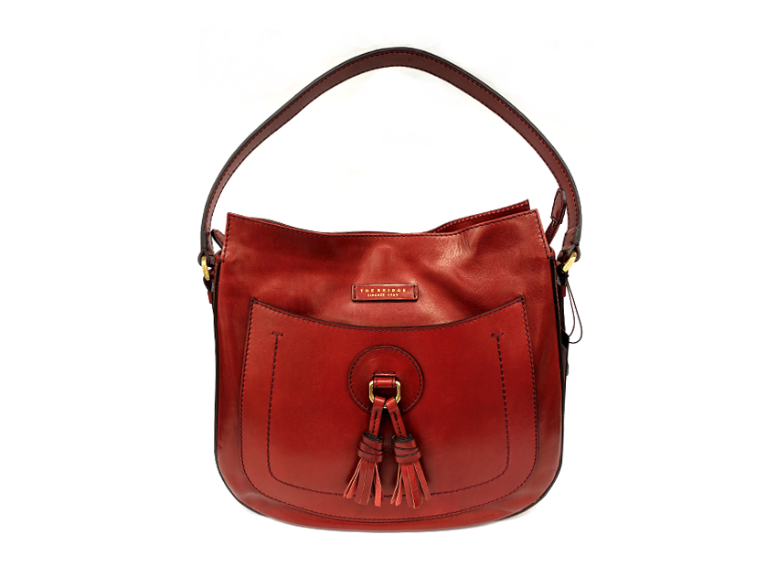 The Bridge - Zaino Donna - linea Santacroce - SKU 04333801 rosso fronte