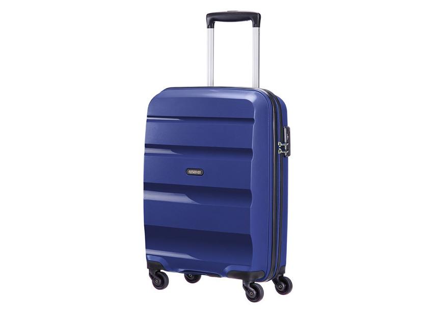 American Tourister - Spinner 55cm - Bon Air - SKU 59422 fronte blu
