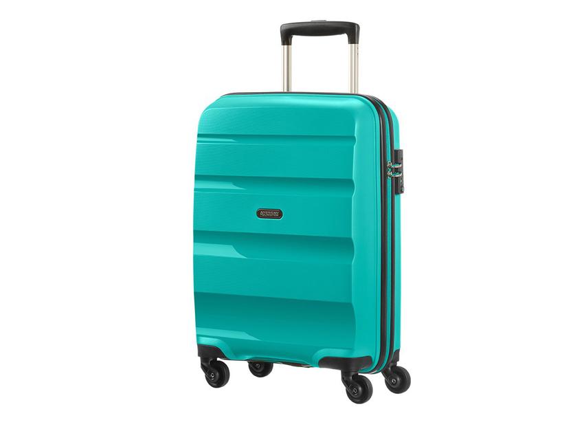 American Tourister - Spinner 55cm - Bon Air - SKU 59422 fronte celeste