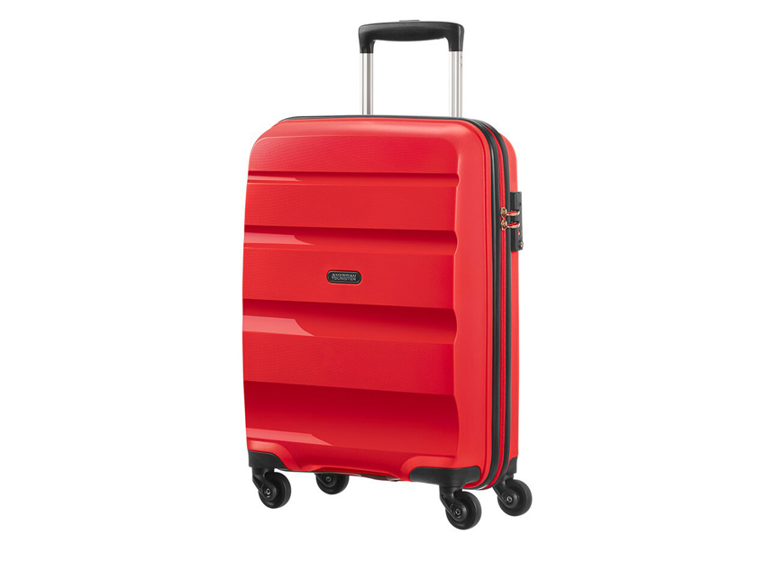 American Tourister - Spinner 55cm - Bon Air - SKU 59422 fronte rossa