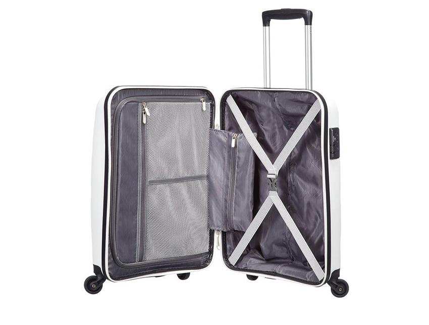 American Tourister - Spinner 55cm - Bon Air - SKU 59422 interna bianca