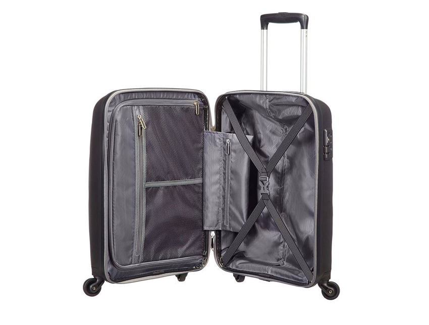 American Tourister - Spinner 55cm - Bon Air - SKU 59422 interna nera