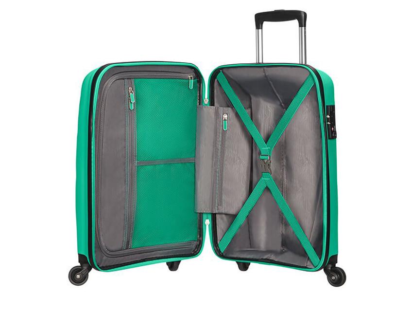 American Tourister - Spinner 55cm - Bon Air - SKU 59422 interna verde