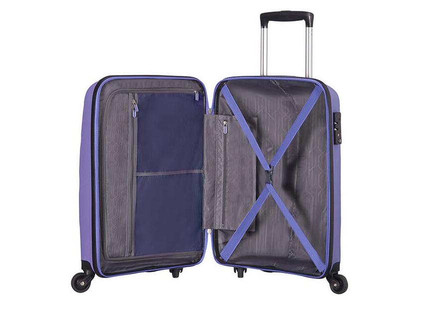 American Tourister - Spinner 55cm - Bon Air - SKU 59422 interna viola