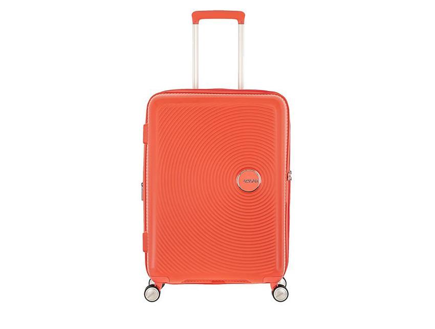 American Tourister - Spinner 67cm - Soundbox - SKU 88473 fronte arancio