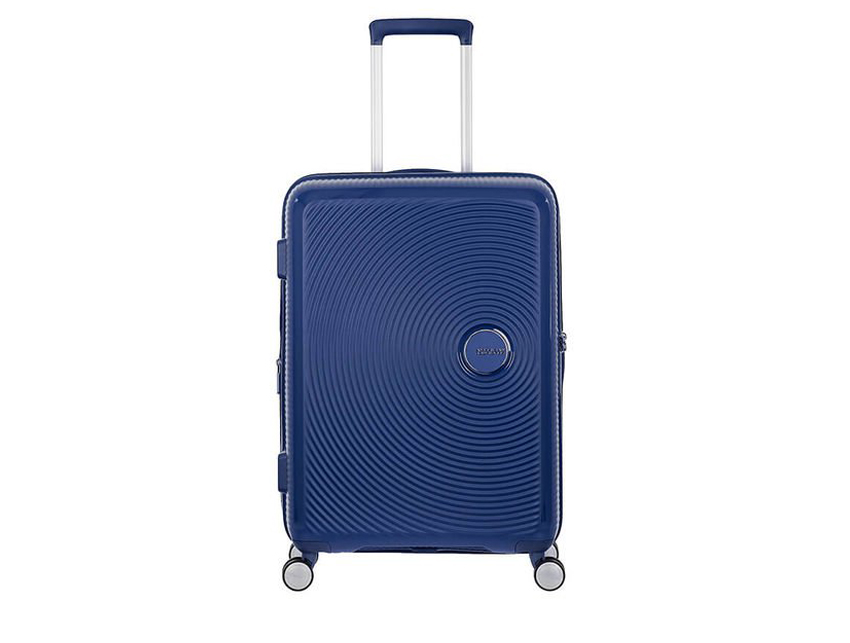 American Tourister - Spinner 67cm - Soundbox - SKU 88473 fronte blu