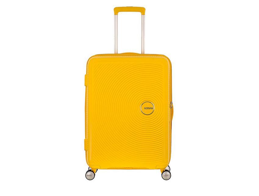 American Tourister - Spinner 67cm - Soundbox - SKU 88473 fronte gialla