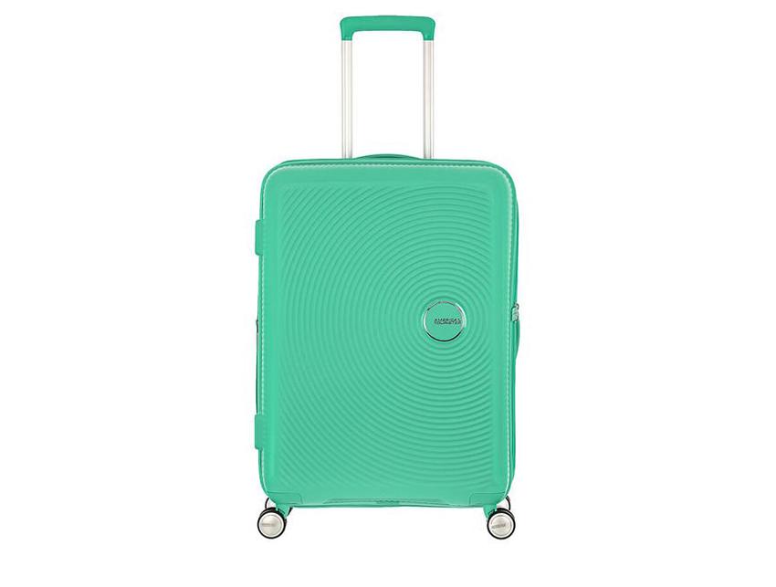 American Tourister - Spinner 67cm - Soundbox - SKU 88473 fronte verde