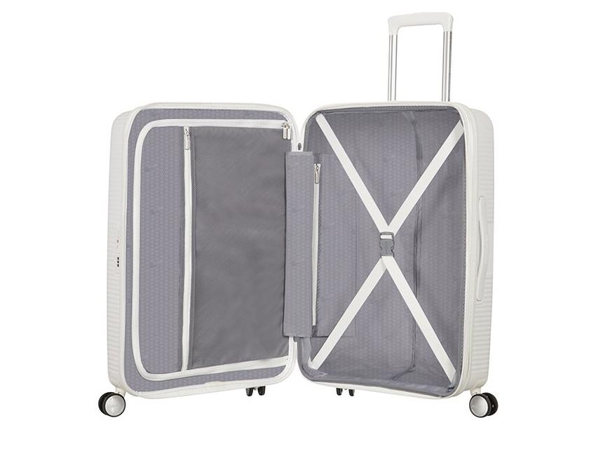 American Tourister - Spinner 67cm - Soundbox - SKU 88473 interna bianca