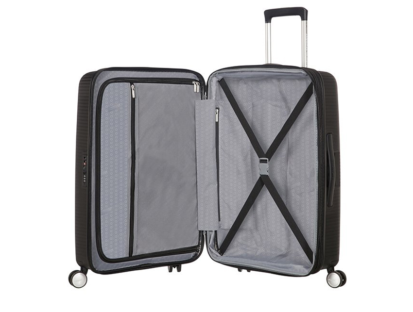 American Tourister - Spinner 67cm - Soundbox - SKU 88473 interna nera