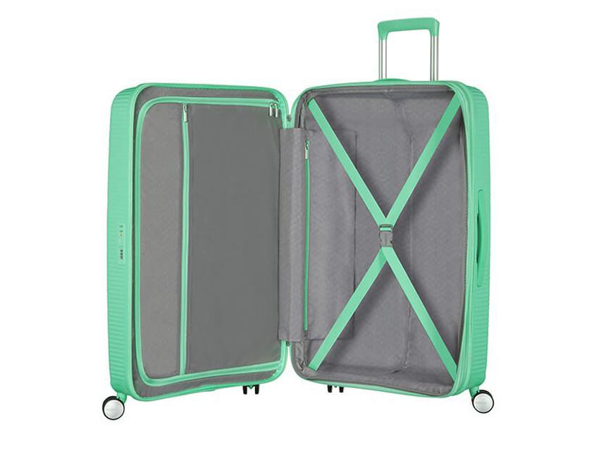 American Tourister - Spinner 67cm - Soundbox - SKU 88473 interna verde