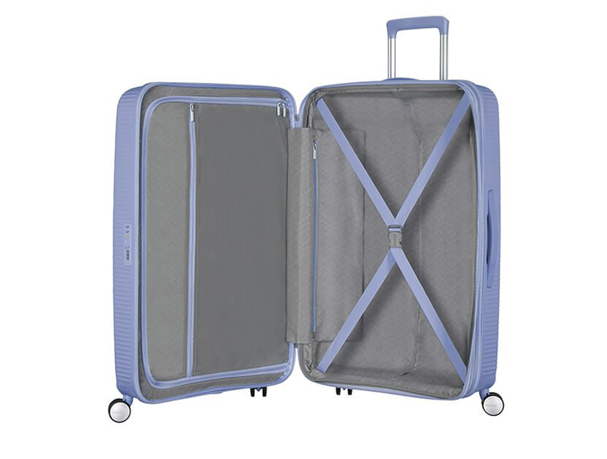 American Tourister - Spinner 67cm - Soundbox - SKU 88473 interna viola