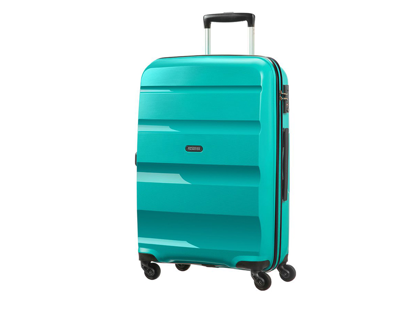 American Tourister - Trolley - Bon Air - SKU 59423 celeste fronte