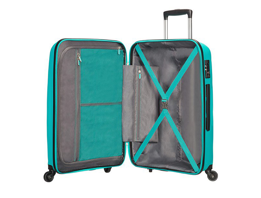 American Tourister - Trolley - Bon Air - SKU 59423 celeste interna
