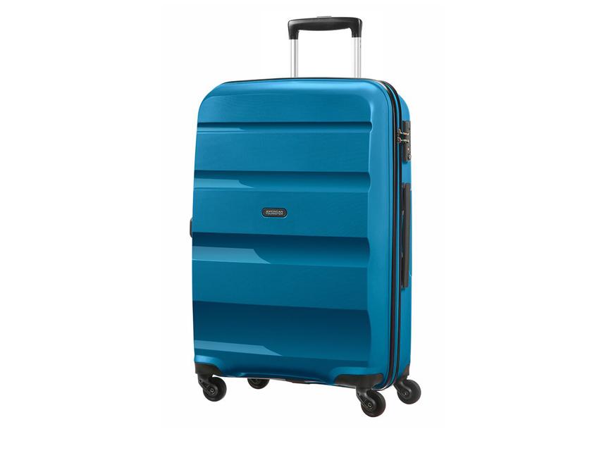 American Tourister - Trolley - Bon Air - SKU 59423 fronte azzurra
