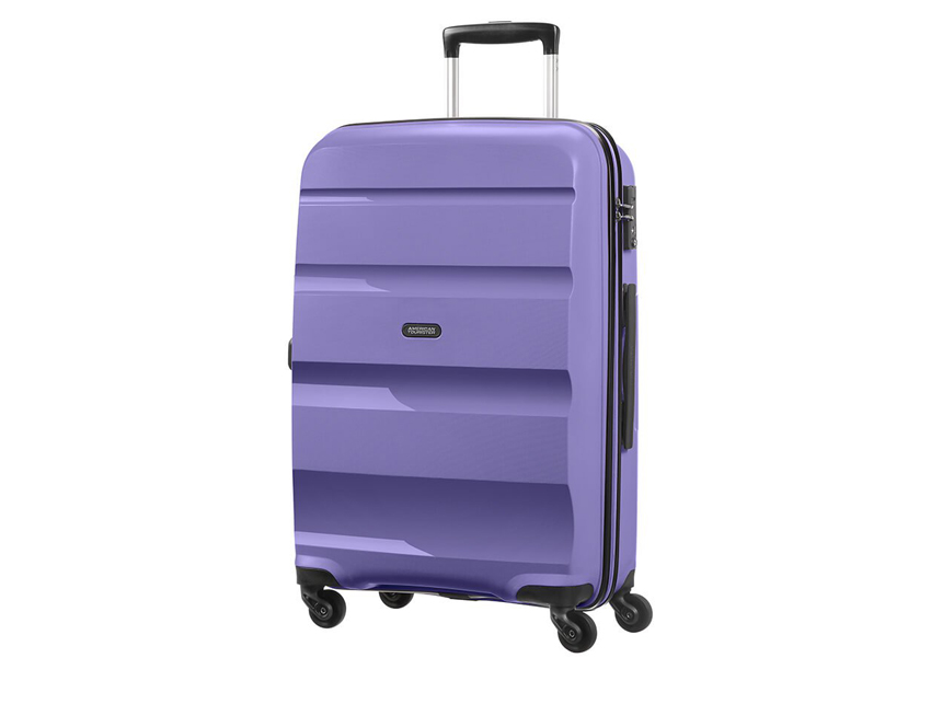 American Tourister - Trolley - Bon Air - SKU 59423 fronte viola