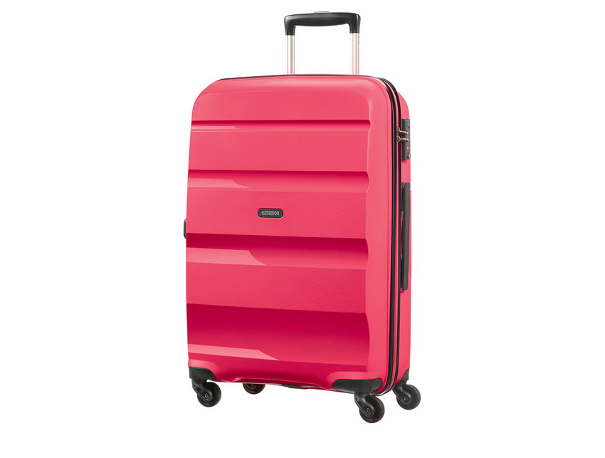 American Tourister - Trolley - Bon Air - SKU 59423 fucsia fronte