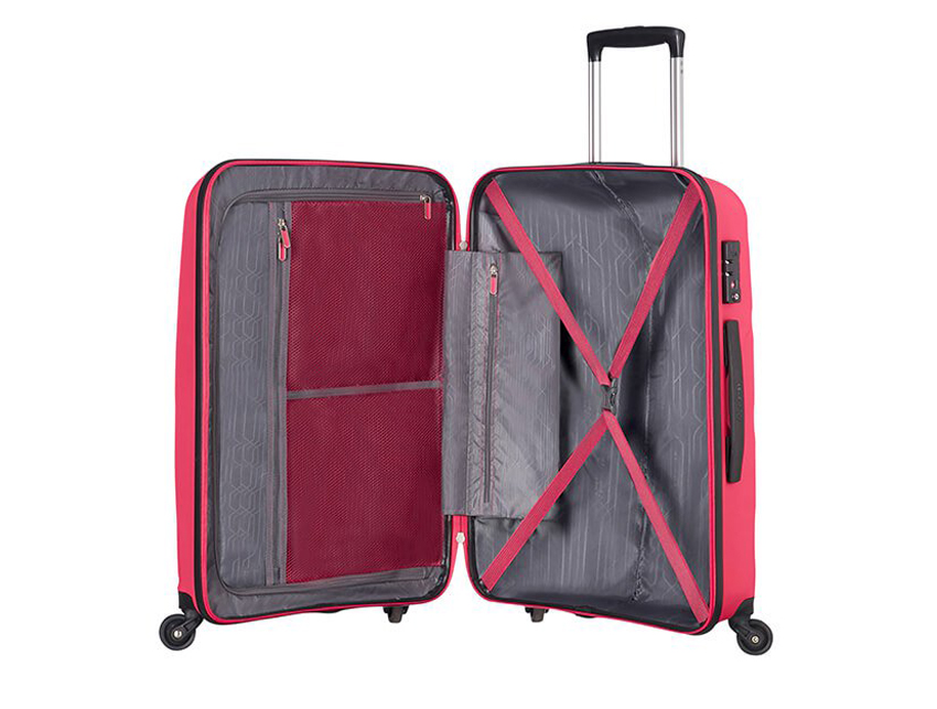 American Tourister - Trolley - Bon Air - SKU 59423 fucsia interna