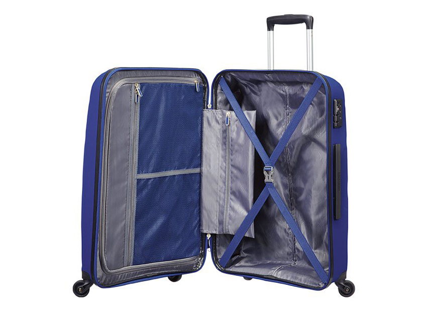 American Tourister - Trolley - Bon Air - SKU 59423 interna blu