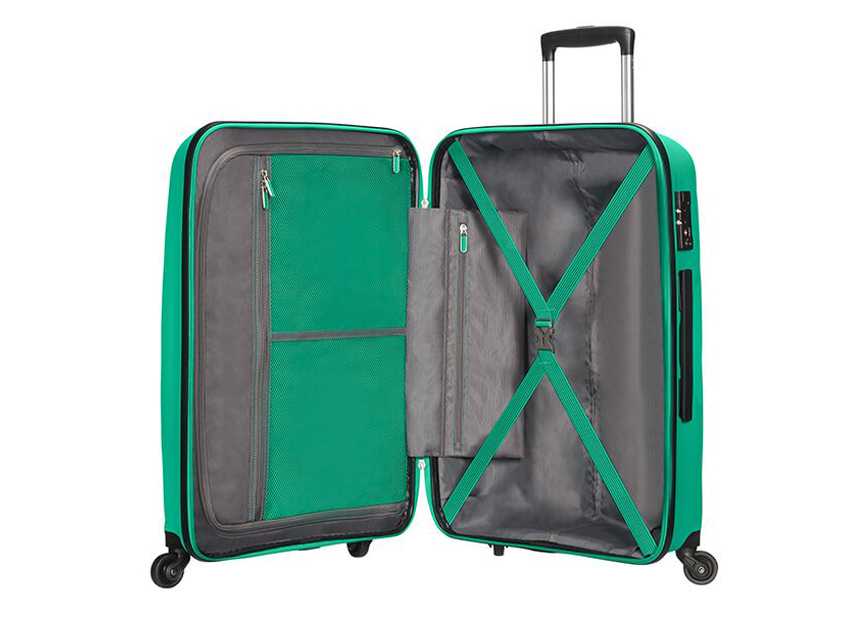 American Tourister - Trolley - Bon Air - SKU 59423 interna verde