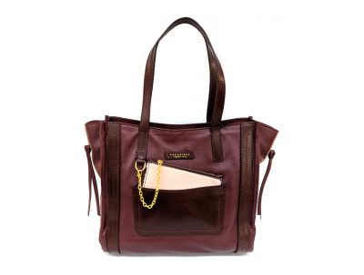 The Bridge - Shopper - Saturnia - SKU 04245840 rubino fronte