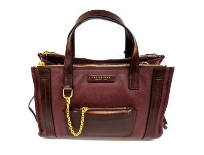 The Bridge - borsa donna - Saturnia - SKU 04246840 rubino fronte