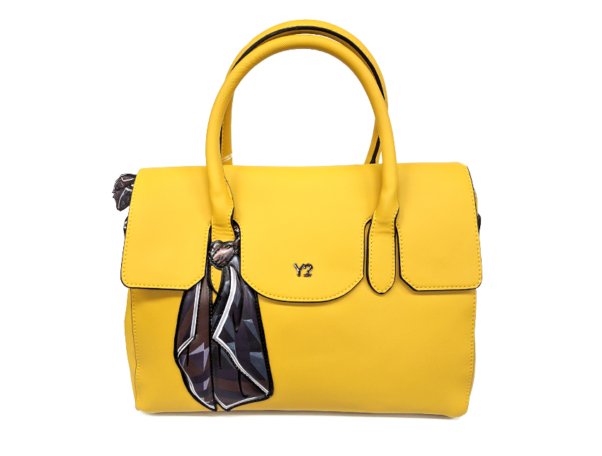 Ynot - Borsa Donna - Sophie - SKU FO-01 giallo fronte