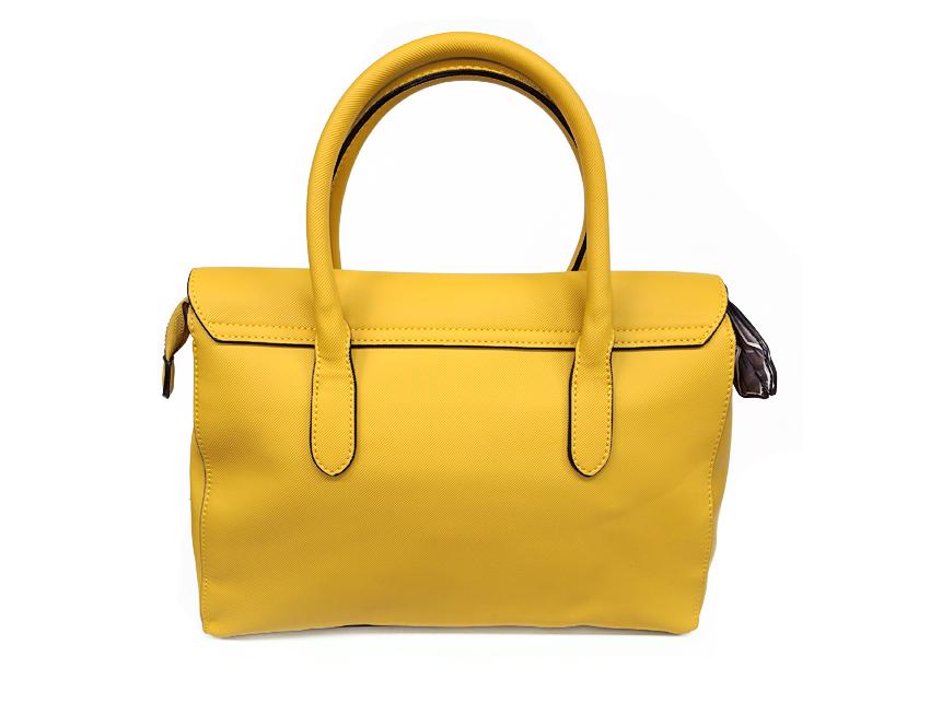 Ynot - Borsa Donna - Sophie - SKU FO-01 giallo retro