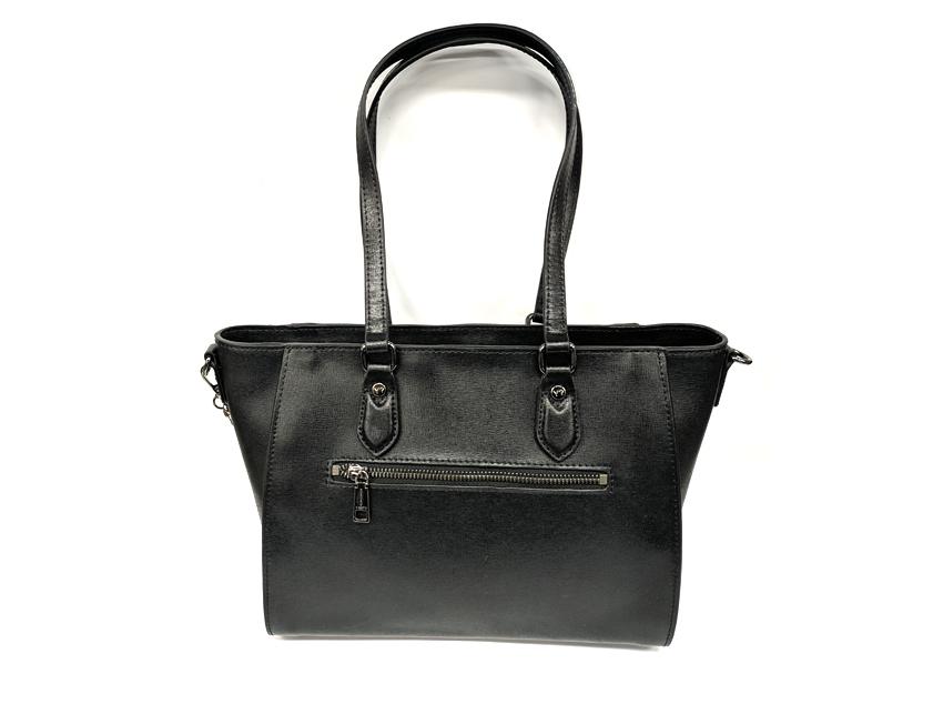 Ynot - Shopping Bag - New Saffiano - SKU SAF-01 nero retro