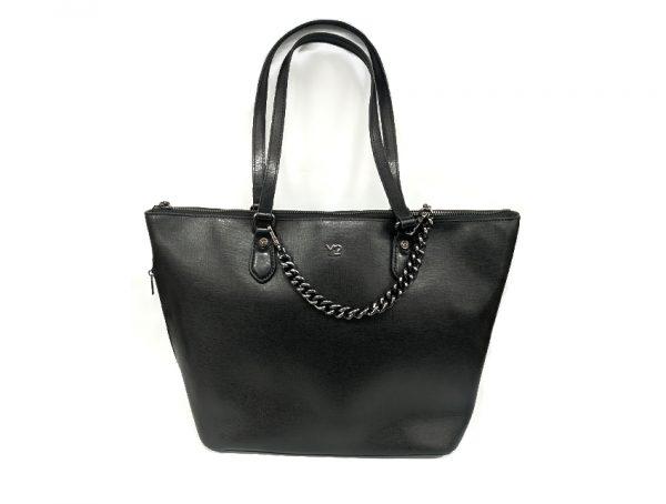 Ynot - Shopping Bag - New Saffiano - SKU SAF-05 nero fronte