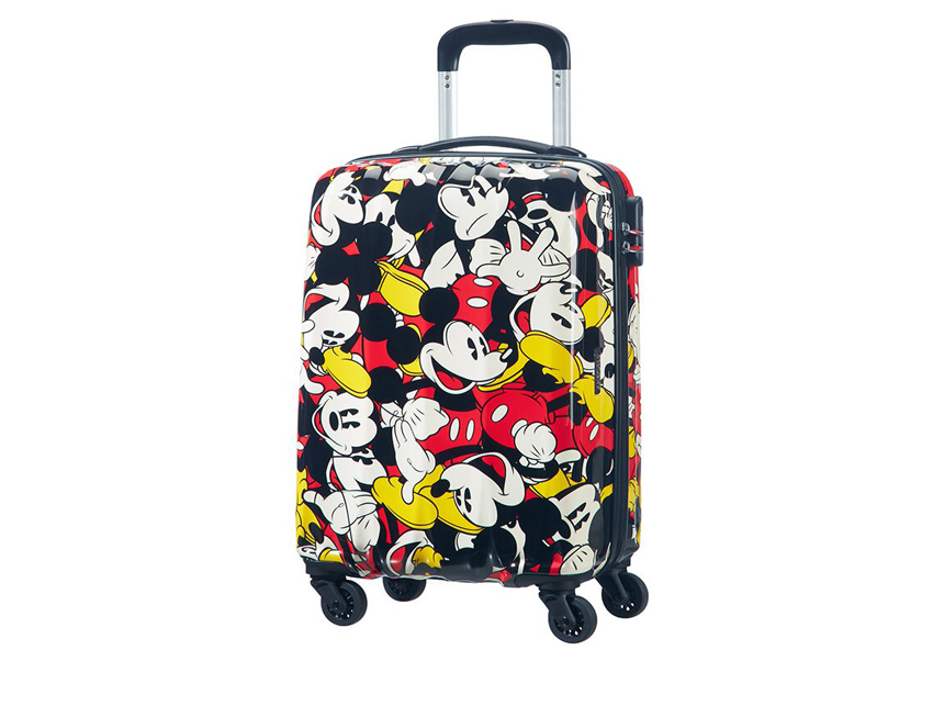 American Tourister Trolley (4 ruote) 55cm Disney Legends 92699-5725 topolino + fronte